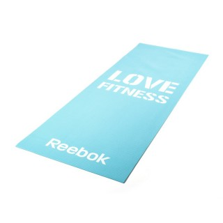 FITNESS MAT BLUE  LOVEM