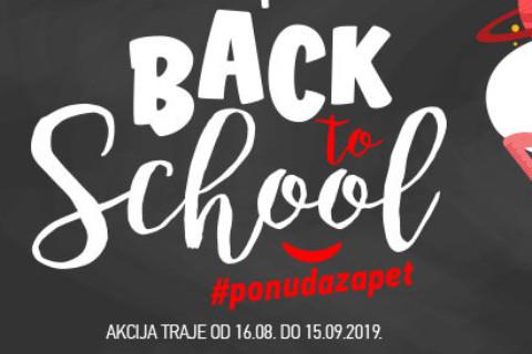 #PONUDAZAPET: Počela je BACK TO SCHOOL akcija