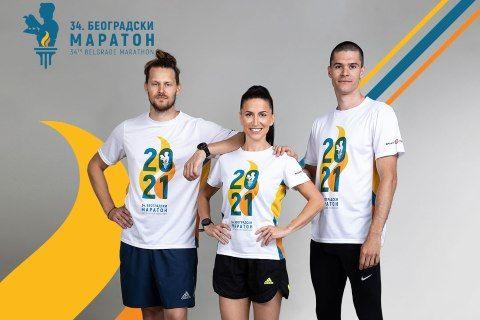 PODRŠKA JE VAŽNA: Predstavljamo zvanične majice 34. Beogradskog maratona