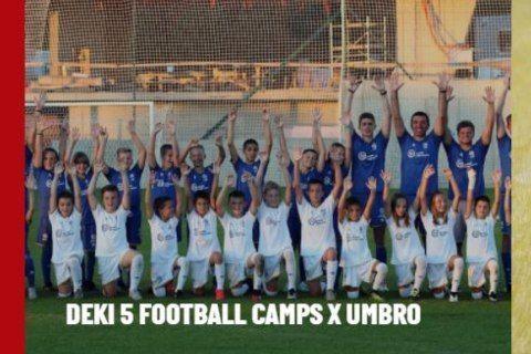 PONOVO U DRUŠTVU NAJBOLJIH: Sport Vision i kamp 'Deki5' na sajtu Umbro.com