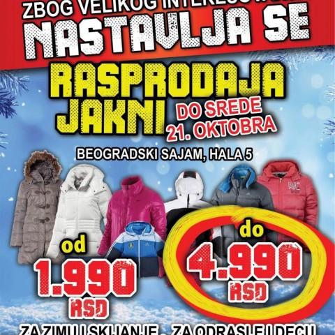 Rasprodaja jakni