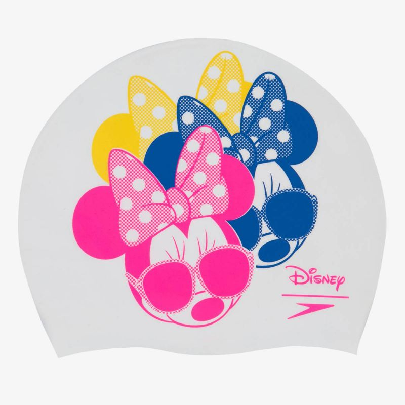 SPEEDO Minnie Mouse Slogan Print Cap Adult