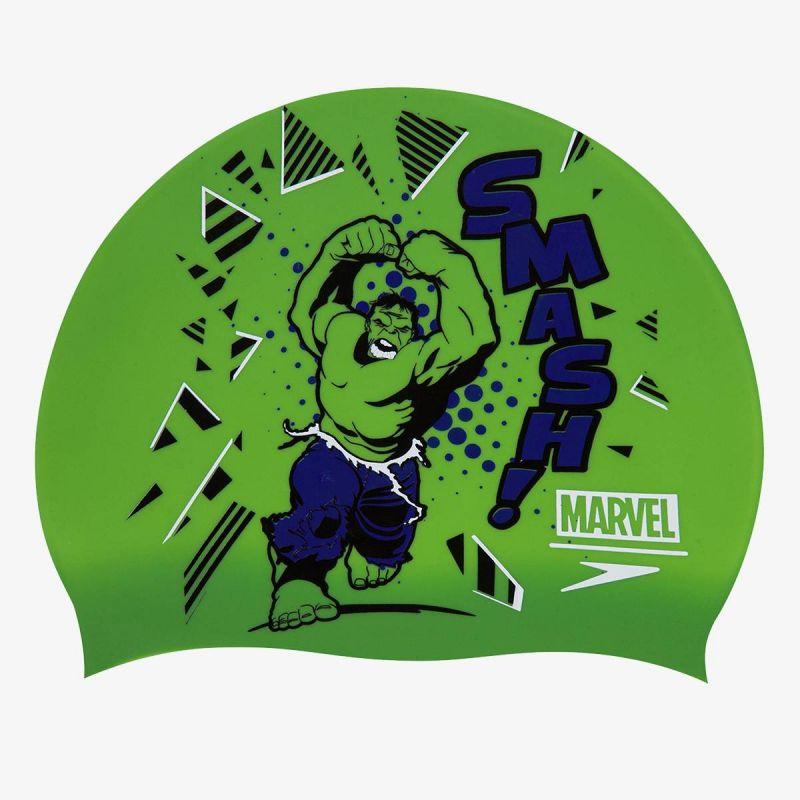 SPEEDO Marvel Hulk Slogan Print Cap Junior