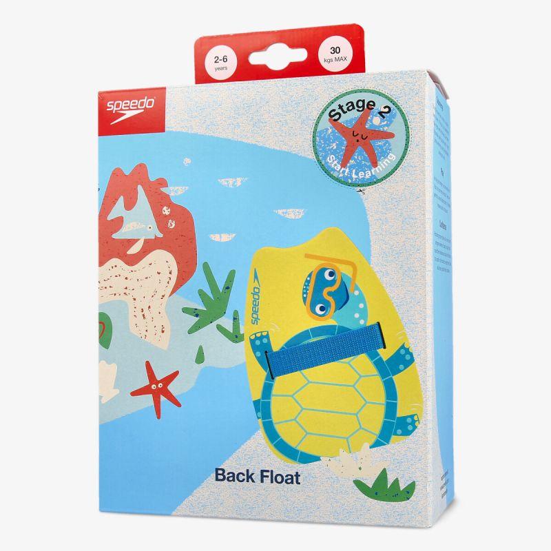 SPEEDO TURTLE PRINTED  BACK FLOAT IU YEL/BLU