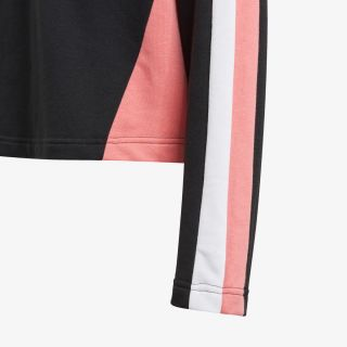 adidas Hooded Cropped Top