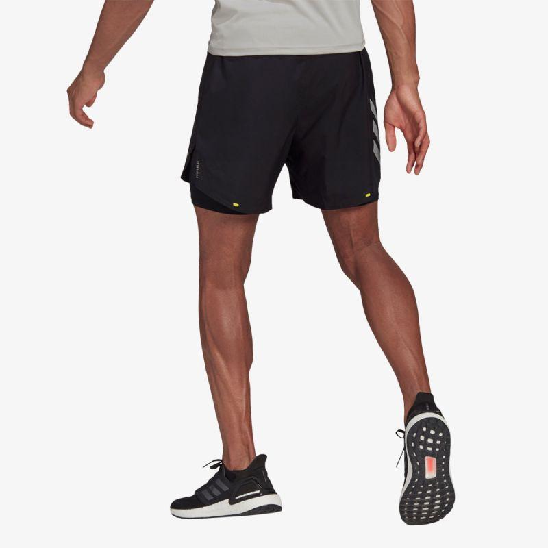 adidas FAST 2IN1 SHORT PRIMEBLUE