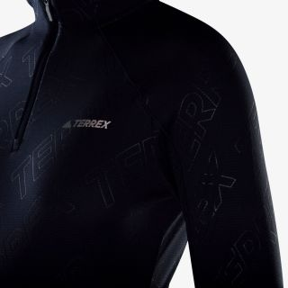 adidas TERREX TraceRocker 1/2 zip Longsleeve
