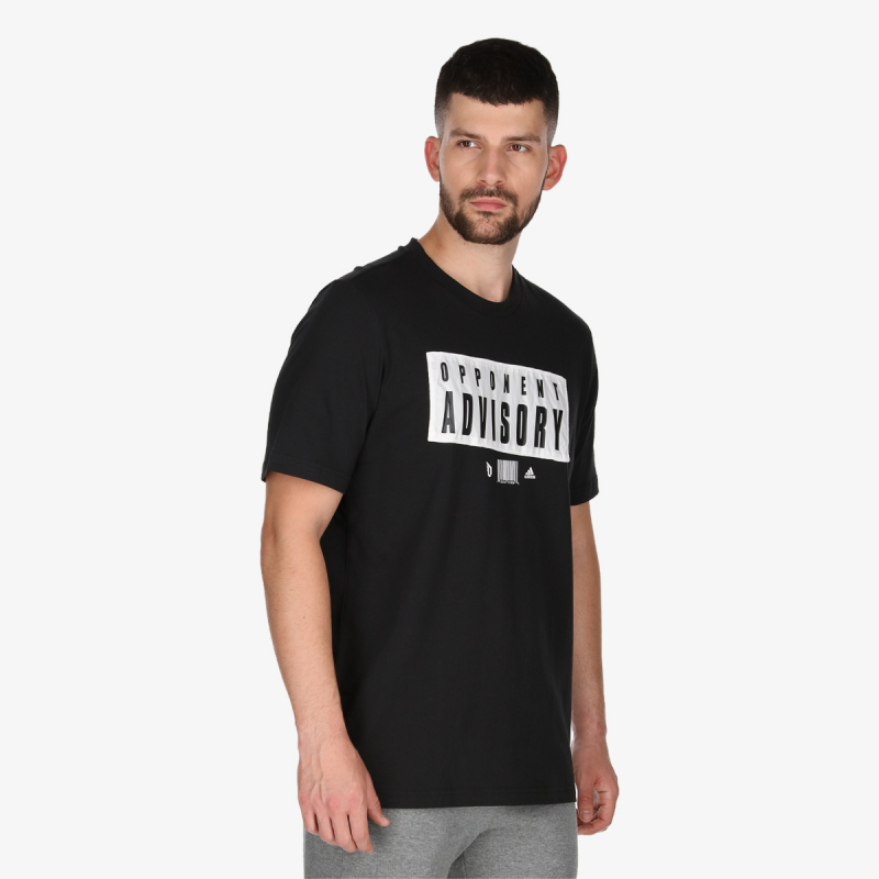 adidas DAME EXT PLY OPPONENT ADVISORY TEE