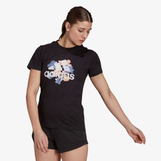 adidas FLORAL GRAPHIC TEE