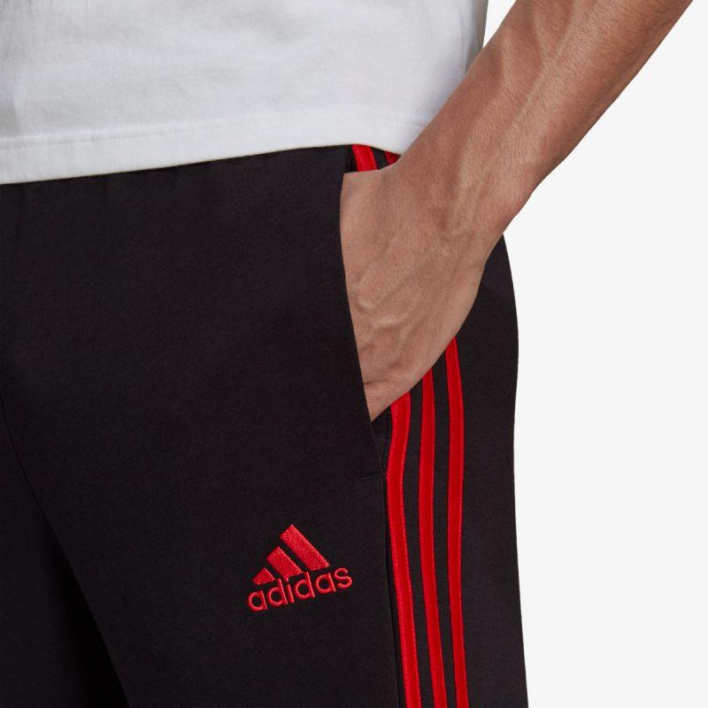 adidas ESSENTIALS TAPERED CUFF 3 STRIPES PANTS