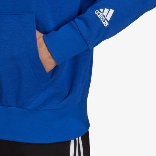adidas ESSENTIALS LOGO HOODIE (RELAXED FIT)