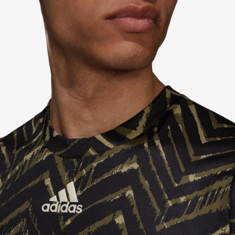 adidas TENNIS FREELIFT PRINTED T-SHIRT PRIMEBLUE