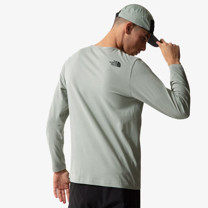 THE NORTH FACE M L/S FINE TEE