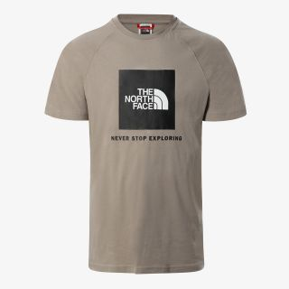THE NORTH FACE M S/S RAG RED BOX TEE