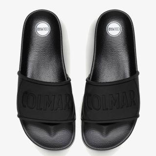 COLMAR SLIPPER LOGO BLACK
