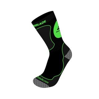ROLLERBLADE Čarape KIDS SOCKS BLACK/GREEN