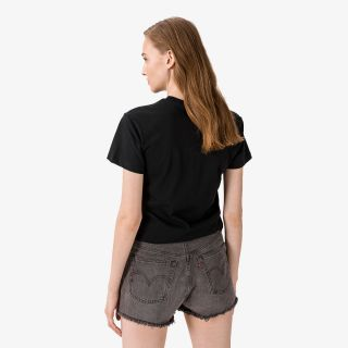 CONVERSE STRONGER TOGETHER RELAXED TEE BLACK