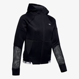 UNDER ARMOUR Move Full Zip Hoodie Mesh Inset