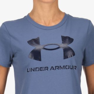 UNDER ARMOUR Women's UA Sportstyle Graphic Short Sleeve