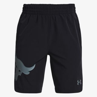 UNDER ARMOUR Boys' Project Rock Woven Shorts