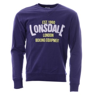 LONSDALE Dukserica LONSDALE MEN'S CREW NECK SWEAT SHIRT