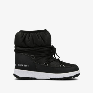 MOON BOOT MOON BOOT JR GIRL LOW NYLON WP BLACK
