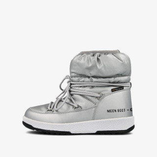 MOON BOOT MOON BOOT JR GIRL LOW NYLON WP SILVER ME