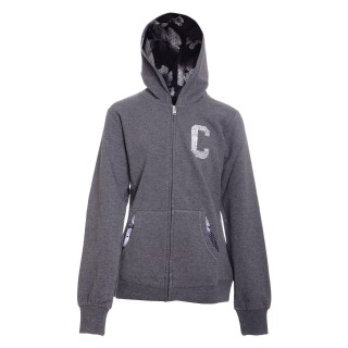 CHAMPION Dukserica G-TUTA CAPP C/ZIP  STR.FR.FLEECE WINTER