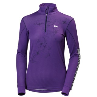 HELLY HANSEN Aktivni ves gornji deo W HH ACTIVE FLOW GRAPHIC 1/2 ZIP