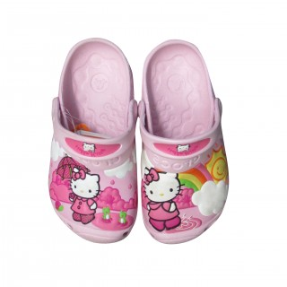 CROCS Papuče CROCS H. KITTY RAIN&SUN CSTM CLOG 11434