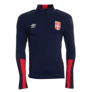 UMBRO Dukserica SERBIA TRAINING HALF ZIP TOP