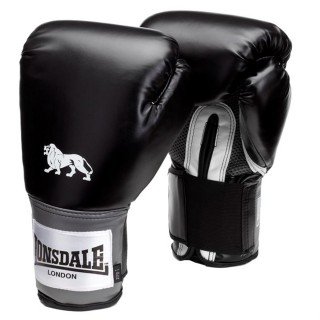 LONSDALE Rukavice LONSDALE PRO TRAIN GLV30 Black