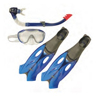 SPEEDO Set GLIDE MASK SNORKEL