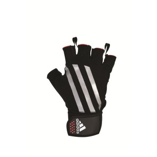UNIQ Rukavice WEIGHTLIFTING GLOVES - EXTRA LARGE RED