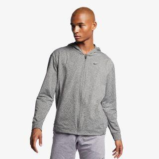 NIKE Nike DRI-FIT MEN'S FULL ZIP YOGA TRAINING HOODIE. NIKE LU