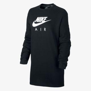 NIKE W NSW AIR CREW DRESS BB FLC
