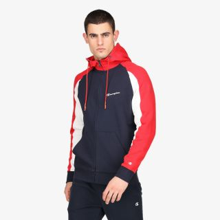CHAMPION COLOR BLOCK FULL ZIP HOODY