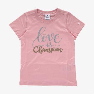 CHAMPION Champion GIRLS LOVE T-SHIRT