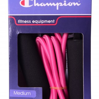 CHAMPION Fitnes ekspander CHAMPION RESISTANCE TUBE PURPLE M