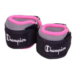 CHAMPION Teg CHAMPION ANK/WRST WTS PINK