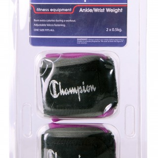CHAMPION Teg CHAMPION ANK/WRST WTS PURPLE
