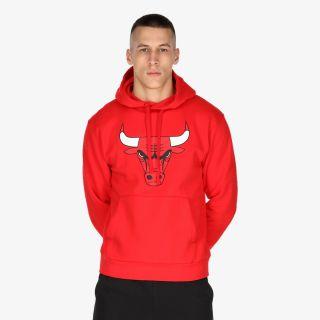 NIKE Chicago Bulls Essential Men's NBA Pullover Hoodie