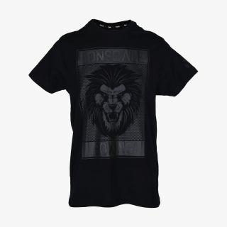 LONSDALE LONSDALE BLK LION T-SHIRT LS