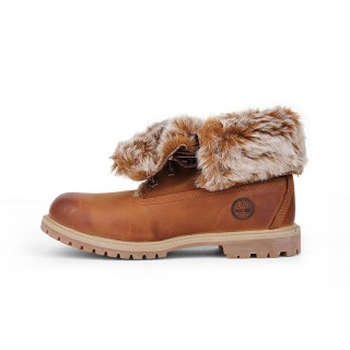 TIMBERLAND Cipele TIMBERLAND AUTHENTICS FAUX FUR FOLD-DOWN