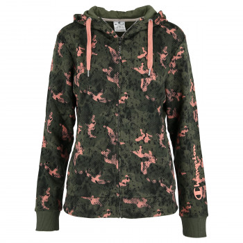 CHAMPION LADY CAMO FULL ZIP HOODY