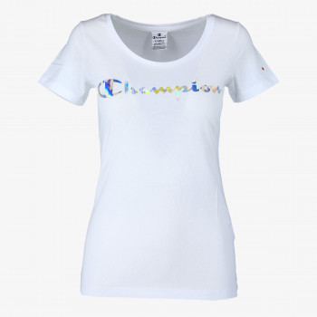 CHAMPION LADY SHINE LOGO T-SHIRT