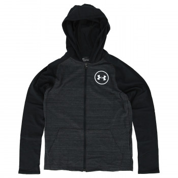 UNDER ARMOUR Boys MVP Cotton Tri FZ Hoody