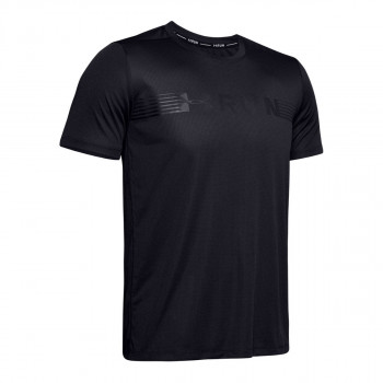 UNDER ARMOUR UA RUN WARPED SHORTSLEEVE