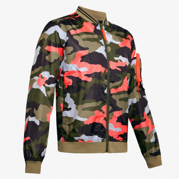 UNDER ARMOUR UNSTOPPABLE CAMO BOMBER