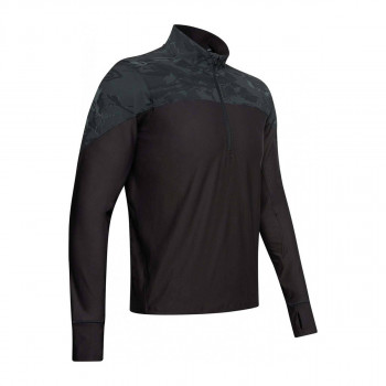 UNDER ARMOUR UA QUALIFIER CAMO HALF ZIP